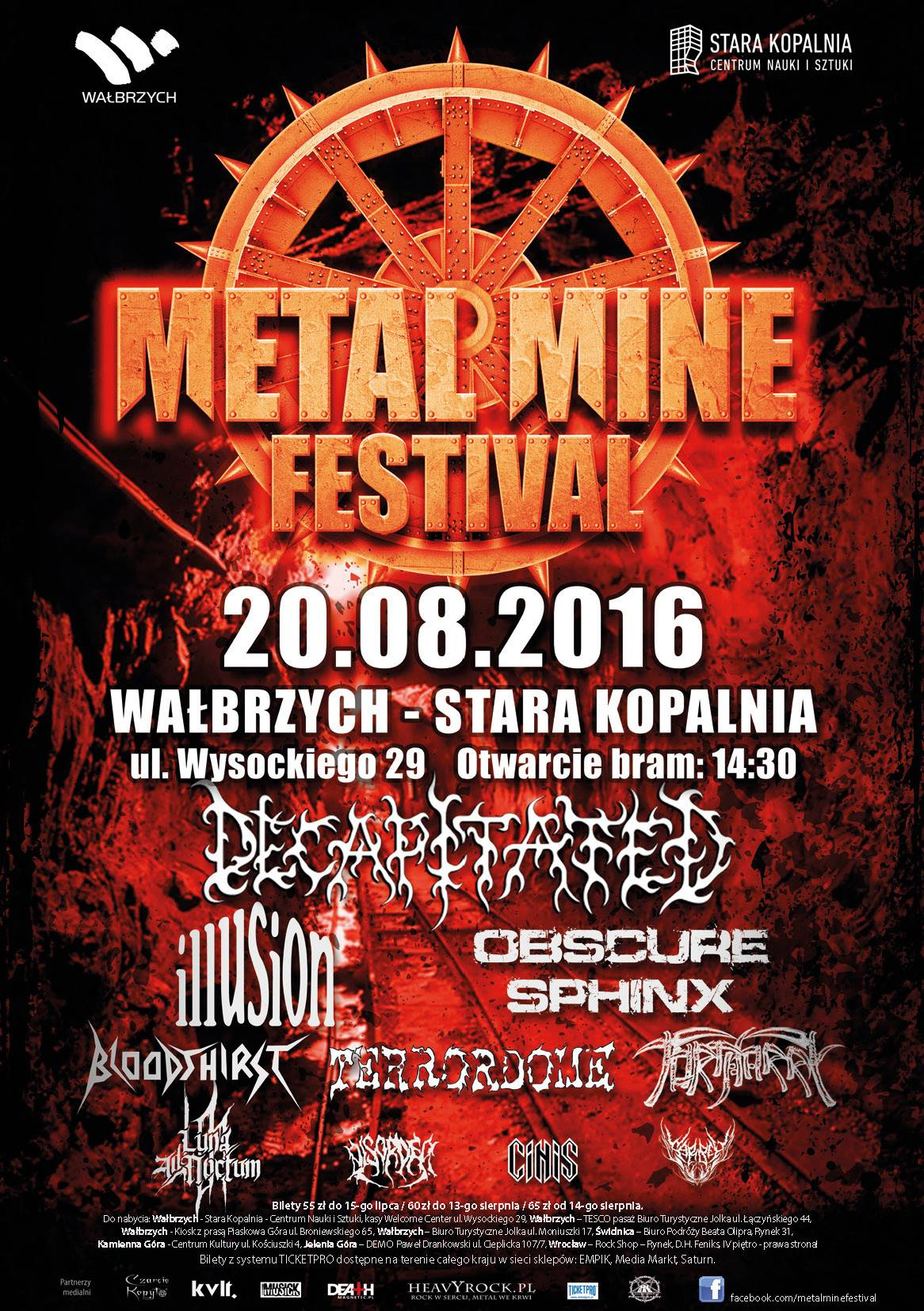 Illusion w Wałbrzychu | Metal Mine Festival